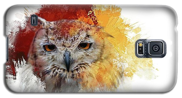 Indian Eagle-owl Galaxy S5 Case