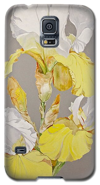 Irises-posthumously Presented Paintings Of Sachi Spohn  Galaxy S5 Case