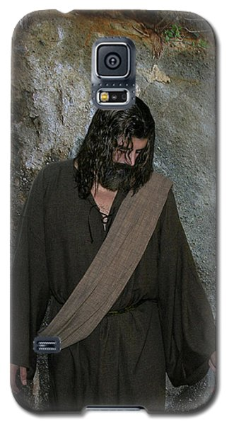 Jesus Christ- Rise And Walk With Me  Galaxy S5 Case