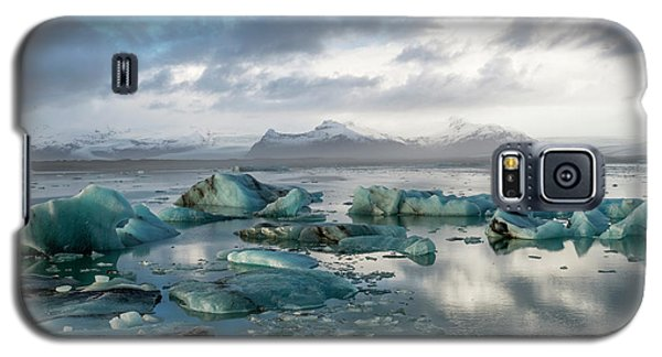 Galaxy S5 Case featuring the photograph Jokulsarlon, The Glacier Lagoon, Iceland 3 by Dubi Roman