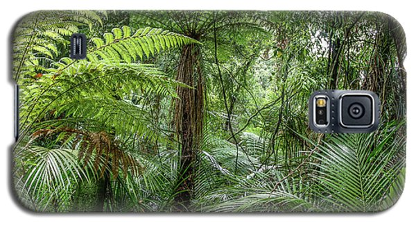 Galaxy S5 Case featuring the photograph Jungle Ferns by Les Cunliffe