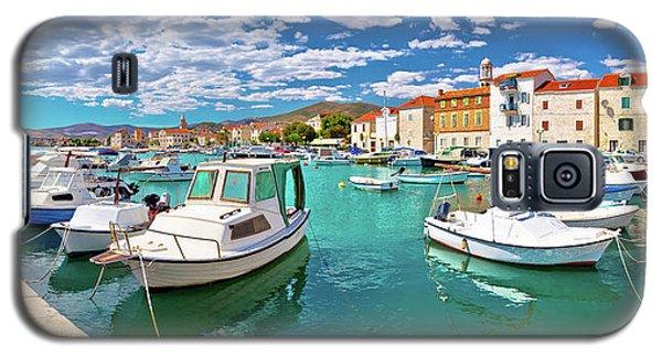 Kastel Novi Turquoise Harbor And Historic Architecture Panoramic Galaxy S5 Case