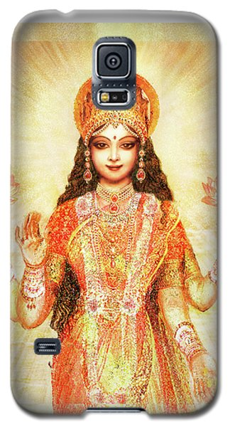 Lakshmi The Goddess Of Fortune And Abundance Galaxy S5 Case