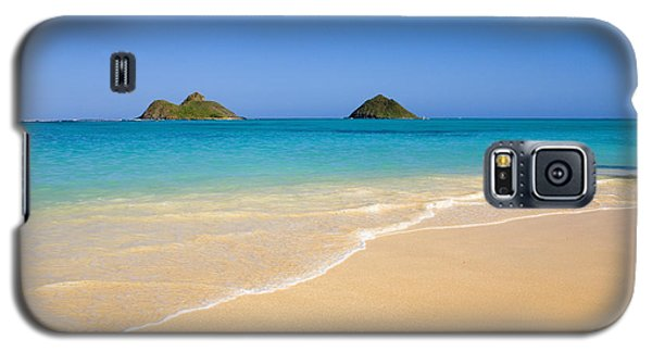 Lanikai, Mokulua Islands Galaxy S5 Case by Tomas del Amo - Printscapes