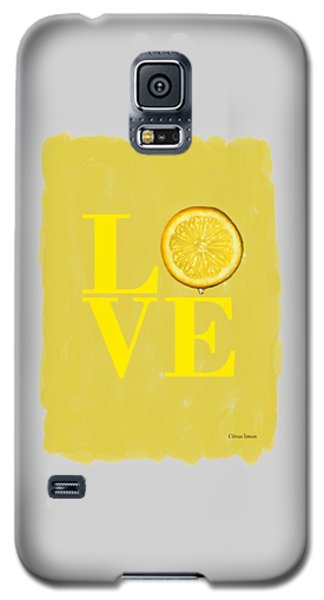 Lemon Galaxy S5 Case by Mark Rogan