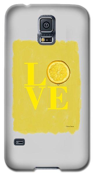 Lemon Galaxy S5 Case