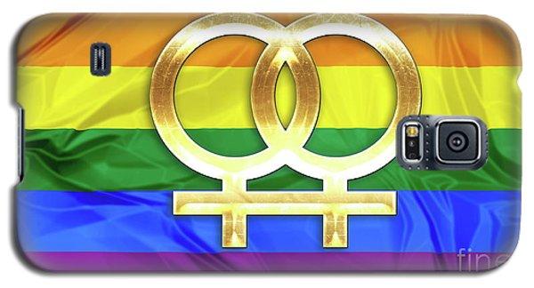 Lesbian Symbols Galaxy S5 Case