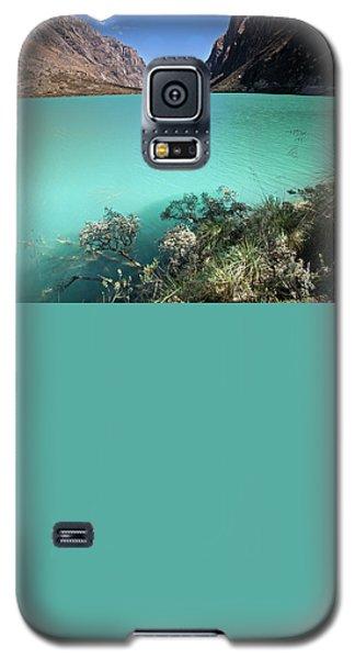 Llanganuco Lakes Galaxy S5 Case