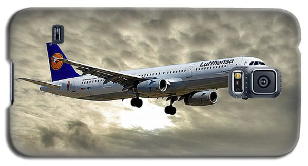 Jet Galaxy S5 Case - Lufthansa Airbus A321-131 by Smart Aviation