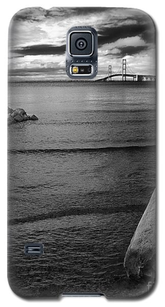 Mackinac Bridge - Infrared 01 Galaxy S5 Case
