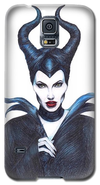 Maleficent  Once Upon A Dream Galaxy S5 Case by Kent Chua