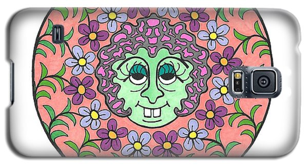 Goofy Green Witch Galaxy S5 Case