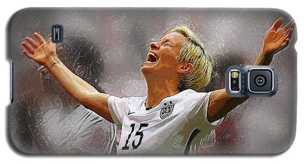 Megan Rapinoe Galaxy S5 Case by Semih Yurdabak