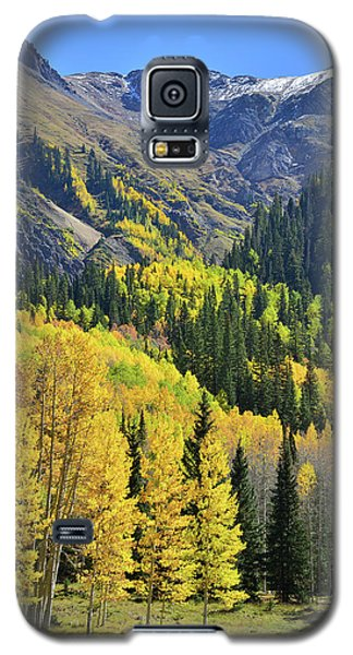 Galaxy S5 Case featuring the photograph Million Dollar Highway  by Ray Mathis