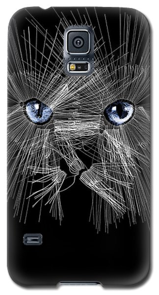 Mister Whiskers Galaxy S5 Case by ISAW Gallery