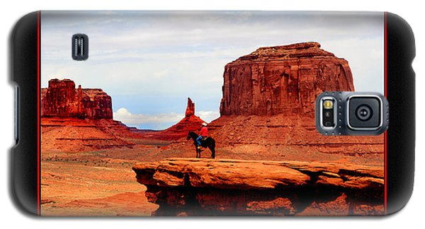 Galaxy S5 Case featuring the photograph Monument Valley II by Tom Prendergast