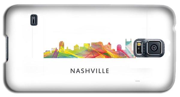 Nashville Tennessee Skyline Galaxy S5 Case by Marlene Watson