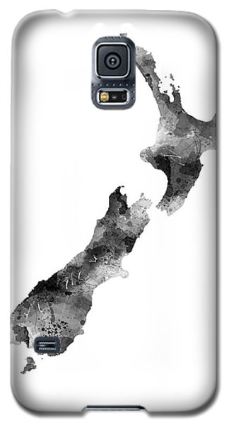 New Zealand Map Galaxy S5 Case