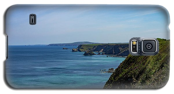 Galaxy S5 Case featuring the photograph North Coast Cornwall by Brian Roscorla