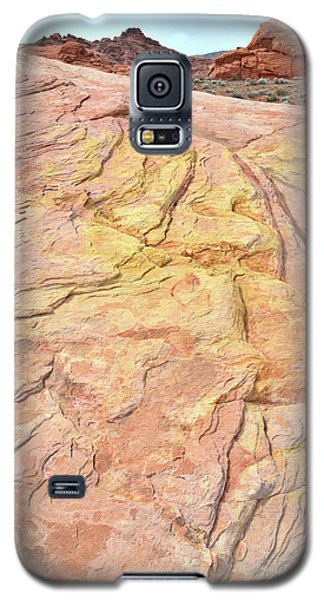 Galaxy S5 Case featuring the photograph North Valley Of Fire by Ray Mathis
