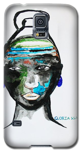 Nuer Bride - South Sudan Galaxy S5 Case