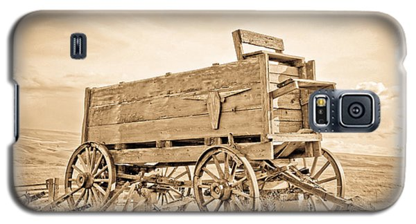 Old West Wagon  Galaxy S5 Case