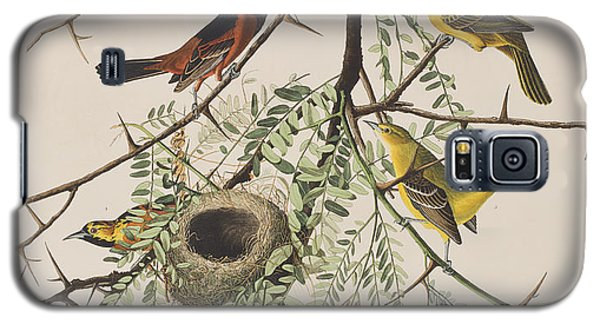 Orchard Oriole Galaxy S5 Case by John James Audubon