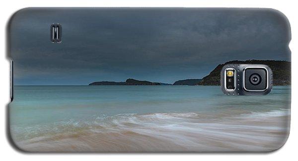 Overcast Cloudy Sunrise Seascape Galaxy S5 Case