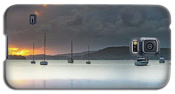 Overcast Sunrise Waterscape Galaxy S5 Case