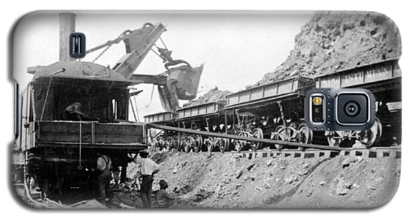 Panama Canal - Construction - C 1910 Galaxy S5 Case by International  Images