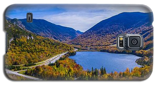 Panoramic View Of Franconia Notch. Galaxy S5 Case