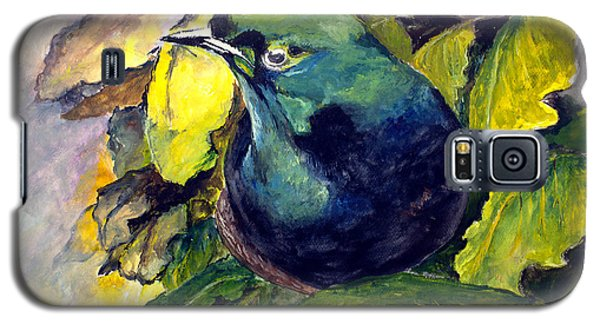 Galaxy S5 Case featuring the painting Paradise Bird by Jason Sentuf