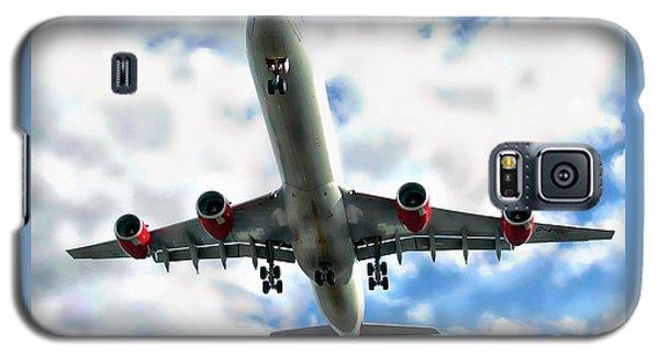 Passenger Plane Galaxy S5 Case