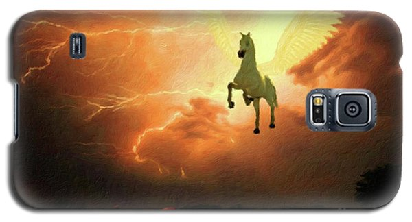 Pegasus By Mary Bassett Galaxy S5 Case