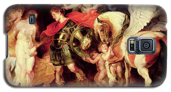 Gorgon Galaxy S5 Case - Perseus Liberating Andromeda  by Peter Paul Rubens