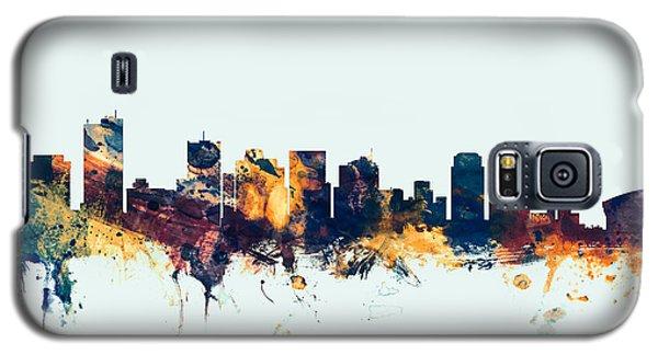 Phoenix Galaxy S5 Case - Phoenix Arizona Skyline by Michael Tompsett