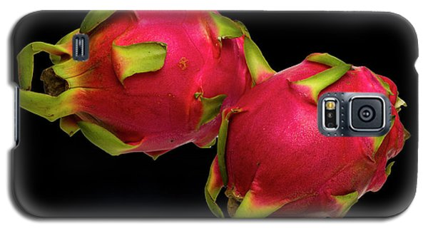 Galaxy S5 Case featuring the photograph Pink Dragon Fruit  by David French