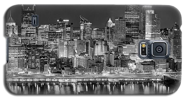 Pittsburgh Pennsylvania Skyline At Night Panorama Galaxy S5 Case