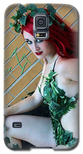 Poison Ivy -cosplay Galaxy S5 Case