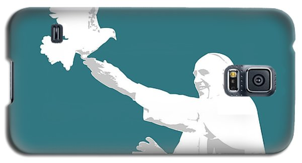 Pope Francis Galaxy S5 Case by Greg Joens