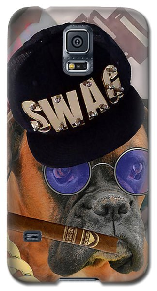 Galaxy S5 Case featuring the mixed media Power by Marvin Blaine