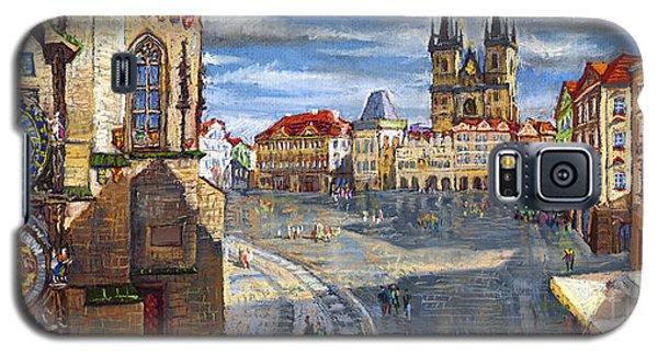 Town Galaxy S5 Case - Prague Old Town Squere by Yuriy Shevchuk