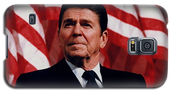 Politicians Galaxy S5 Case - President Ronald Reagan by War Is Hell Store