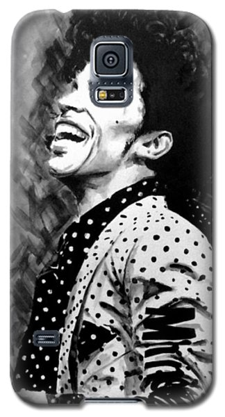 Galaxy S5 Case featuring the painting Prince by Darryl Matthews