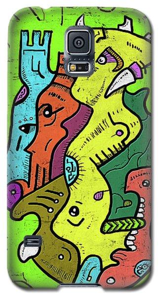 Psychedelic Animals Galaxy S5 Case