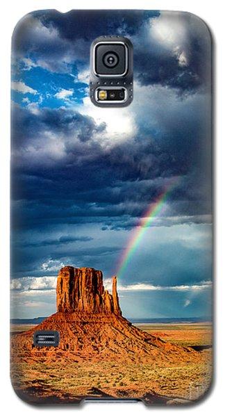 Rainbow Galaxy S5 Case