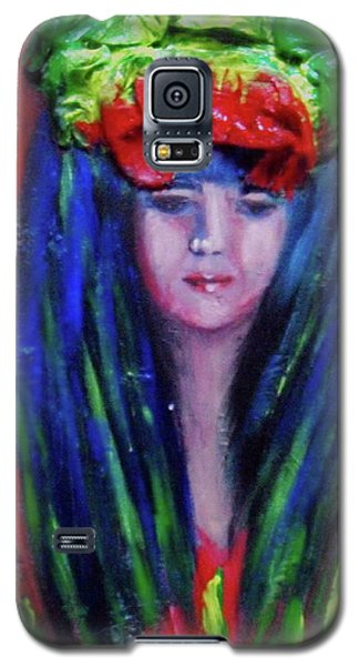 Rasta Girl Galaxy S5 Case