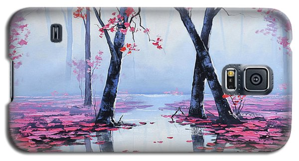 Salmon Galaxy S5 Case - Reflections by Graham Gercken