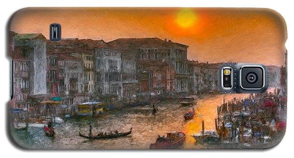 Galaxy S5 Case featuring the photograph Riva Del Ferro. Venezia by Juan Carlos Ferro Duque