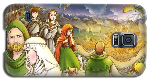 Robin Hood And Matilda Galaxy S5 Case by Reynold Jay